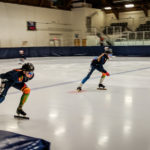 Team NT speed skaters